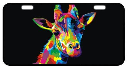 2019 Giraffe Art Decorative Front Plate Car Plate Car Tag License Plate Frame 6 1 X 11 8 From Pottery1683 Price Dhgate Com