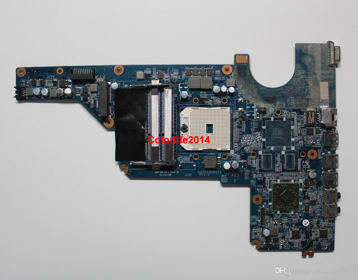 649948-001 AMD S1 Motherboard for HP Pavilion G4 G6 G7 Laptop DA0R23MB6D1 A