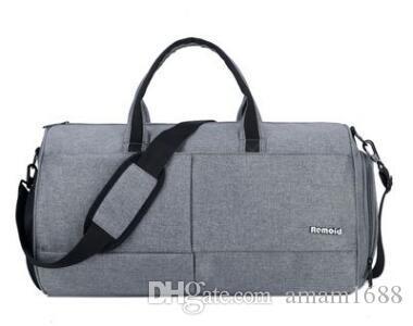 48 см мода Мужчины Женщины дорожная сумка повседневная упражнение вещевой сумки камера сумки большой емкости Спортивные сумки
