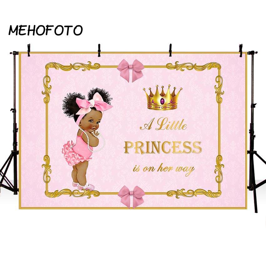 venta al por mayor Royal Baby Shower Telón de fondo para fotografía litera princesa Gender Reveal Party Decoration Photo telones de fondo para las imágenes