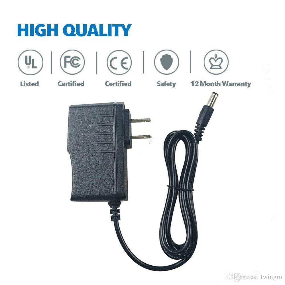 5.5mm 5V 2A AC/DC Charger Power Supply Switching Adapter AC100 to 240V Input Wall Plug for Android TV Box