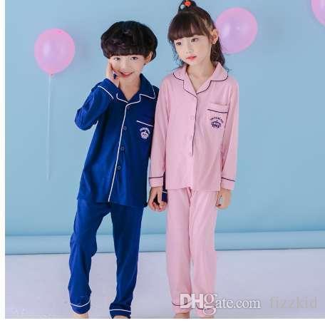 Mädchen Nachtwäsche Anzug Outfit Herbst Weihnachten Kleidung Baby Jungen Weihnachten Pyjamas Kinder Baumwollkleidung