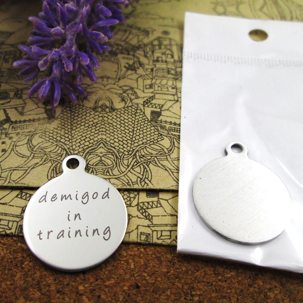 40шт - «Demigod в подготовке» прелесть нержавеющей стали больше стиля для выбора DIY очаровывает подвески для ожерелья