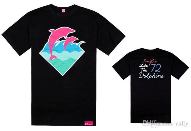 pink dolphin long sleeve shirt