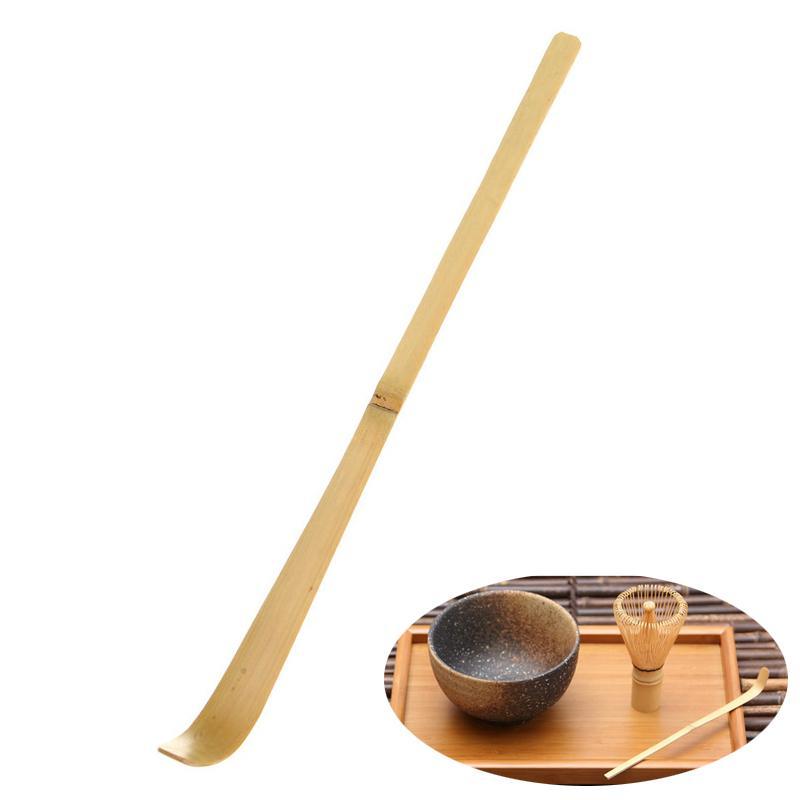 Préféré HELLOYOUNG 17 cm Main Bambou Chashaku Matcha Thé Scoop Rétro Rétro Japonais Thé Vert Cérémonie Matcha Scoop Bâtons De Thé Outil