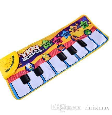 BOHS Finger Touch Play Kind Elektronische Klaviertastatur Musical Gesang Teppich Spielzeug