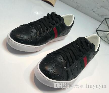 أحذية رجالي فاخرة المصمم الأصلي الانتعاش المثالي عارضة أحذية جلد البقر الحقيقي اليدوية أخضر أحمر أخضر الحجم: 40-47