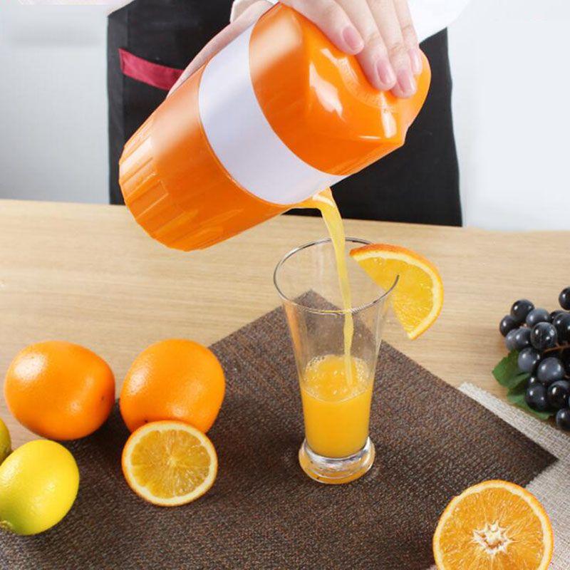 Mini Manual Juicer Laranja Limão Juice Bottle Fruit Extractor Squeezer Mão Citrus Imprensa Copa Frutas Vegetais Ferramentas