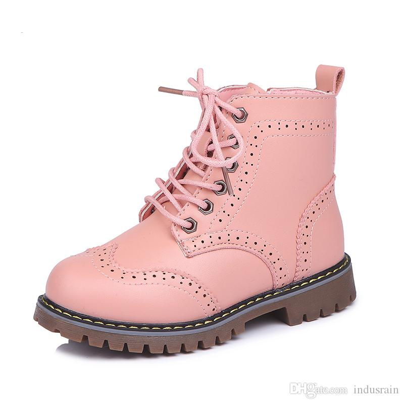 Girls Martin Boots Shoes For Girls