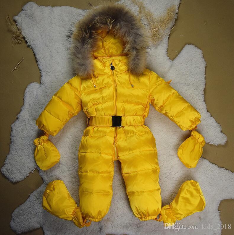 Зимняя одежда для новорожденных 2018 года, модная конфета, куртка с длинными рукавами для мальчиков и девочек с капюшоном