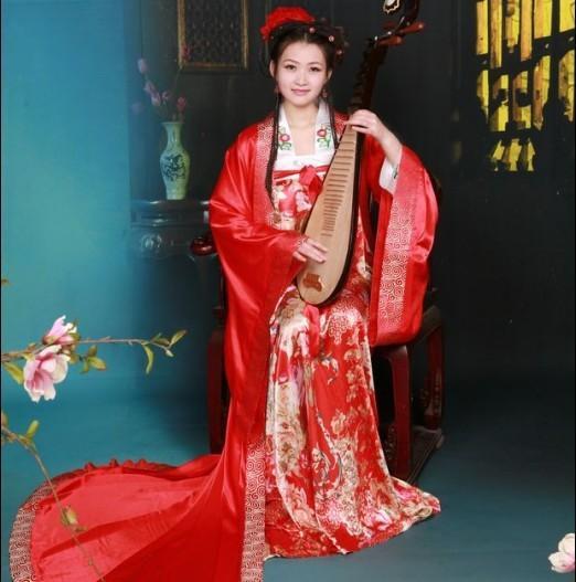 Xifeng павильон старинный костюм свадебное платье императорская наложница династии Тан fengguanxia framebig рукава рубашки