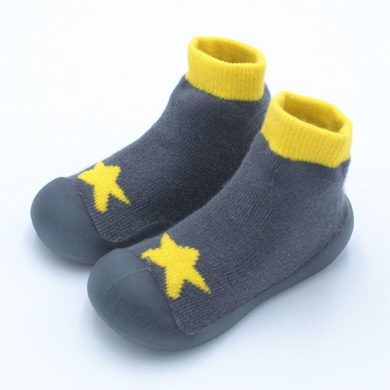 Kids Socks Non-Skid Cotton Infant Toddler Boys Girls Cartoon Cute Socks for 6-36 Months