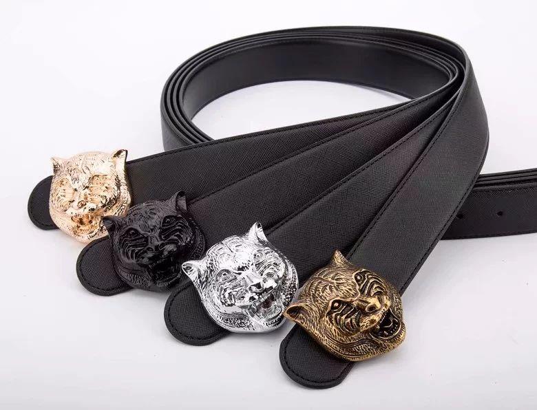 2018 Hot fashion new Big buckle designer belts men high quality mens belts luxury men designer leather belt free shipping