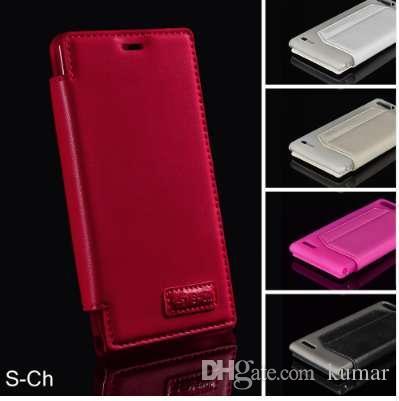 Moda pu leather case para huawei ascend g6 p6 mini cartão slim titulares carteira case com suporte flip telefones celulares case