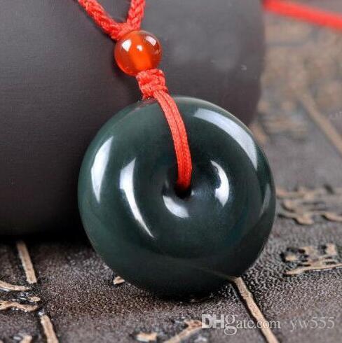 Естественная хэтянь Синьцзян Хотан нефрита мира пряжкой нефрита QINGYU кулон ювелирные изделия