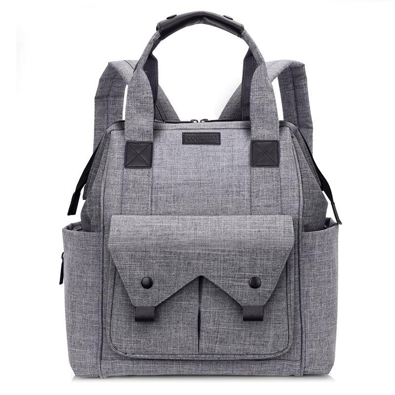 Coolbell Nappy Bag Baby Pañal Bag Backpack Mochila de viaje de gran capacidad de gran capacidad Momia a prueba de maternidad para el cuidado del bebé