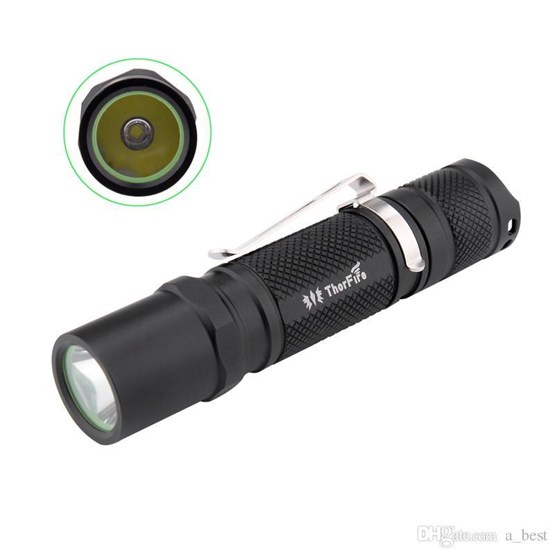 نسخة مطورة من ثور فاير TG06S XP-G2 500LM 5Modes Mini EDC LED مع كاميرا مصغرة لأمن الإضاءة الليلية