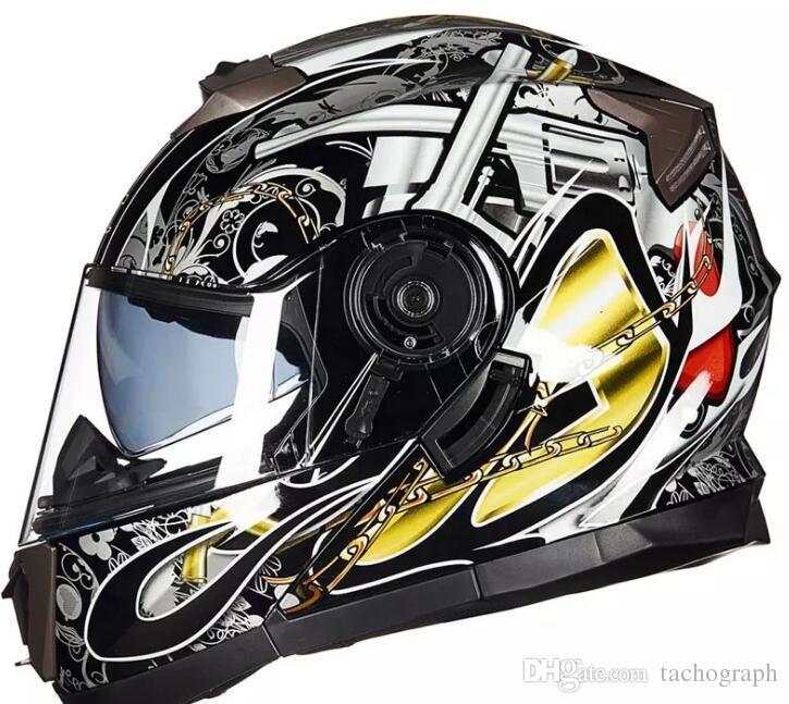 шлем мотоцикла с индивидуальным теплом и предотвращающие запотевание касок мотоциклов