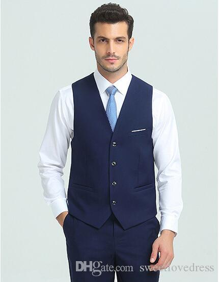 2018 мода мужская деловая повседневная жилет тонкий костюм жилет мужской деловой костюм жилет для свадебных женихов