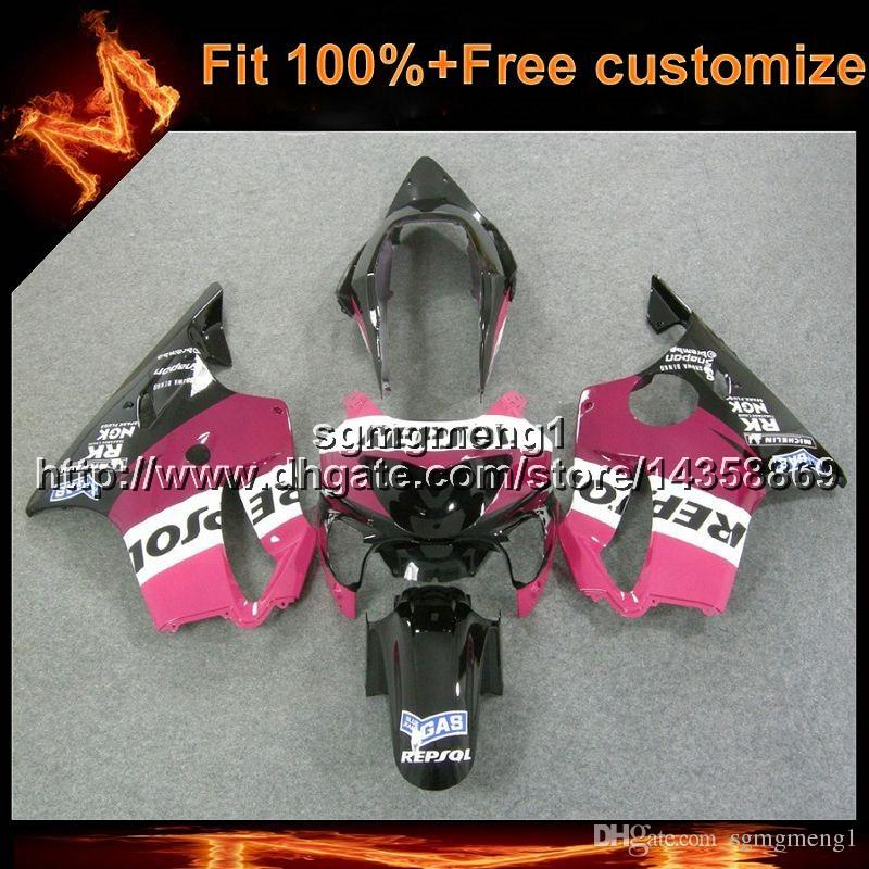 23colors+8Gifts Injection mold repsol pink motorcycle cowl For Honda 00 CBR600F4 1999-2000 F4 99 00 CBR 600 ABS Plastic Fairing