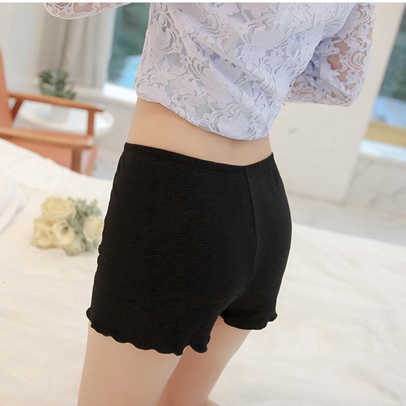 Pantalones cortos de las mujeres coreanas del verano femenino 2017 Cuadros de las mujeres a cortocircuitos de las mujeres con la cintura alta ocasional flojo corto blanco negro