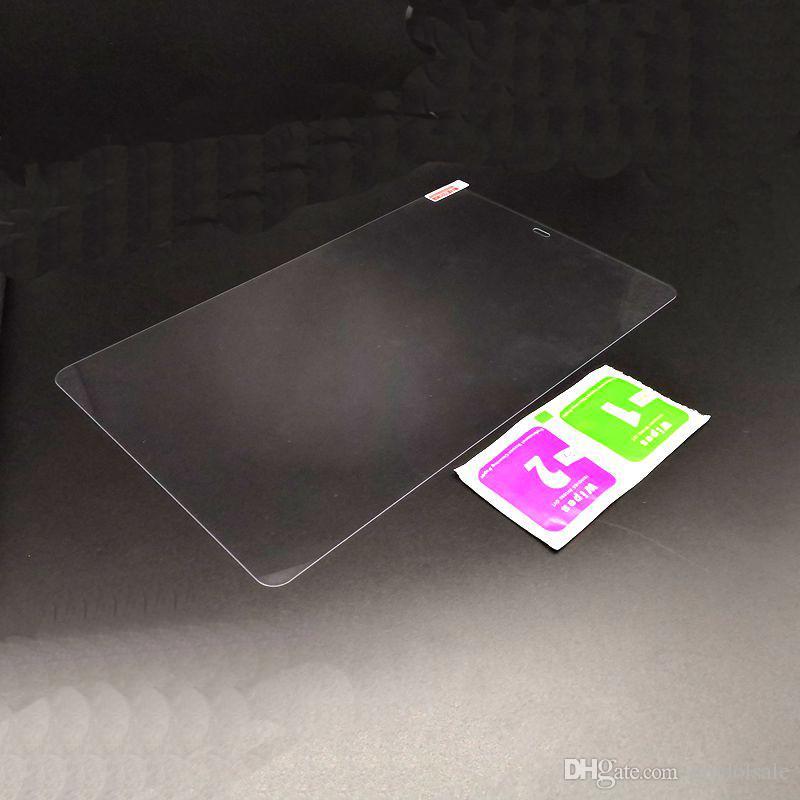 Verre Film trempé Protection d'écran pour Samsung Tab A2 T590 T595 2018 10,5 pouces Tablet nettoyage lingettes Non détail Box Nouvelle Arrivée 100pcs