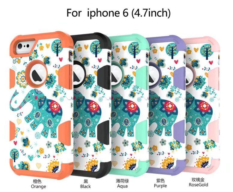 Телефон пылезащитный, мода наклейка для воды iphone телефон слон новый случай 6 падение, для мобильных 20 шт. / 2018 чехол Qixcw