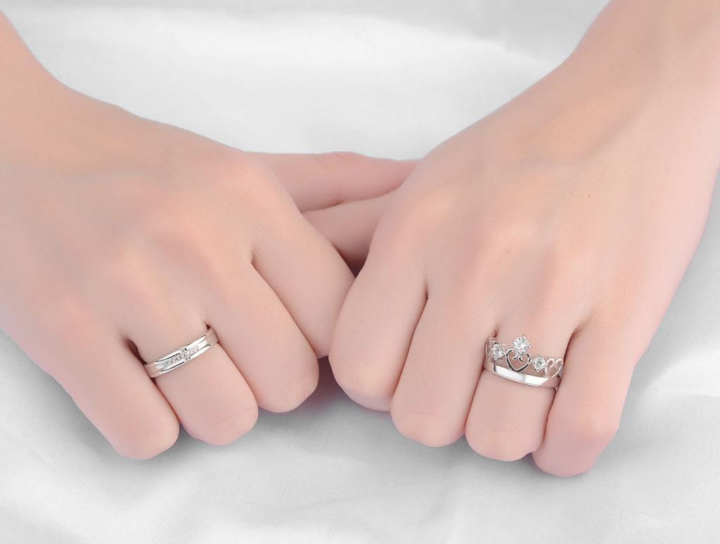 2018 Classic Jewelry Rose Gold Color Titanium Steel Frosted Ring ...