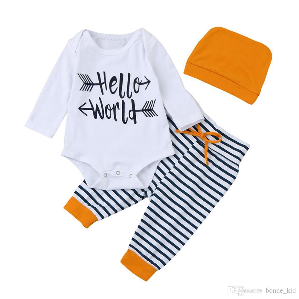 Newborn Baby Bodysuit Deer Head Long Sleeve Suit Long Sleeves Outfit Set Clothes