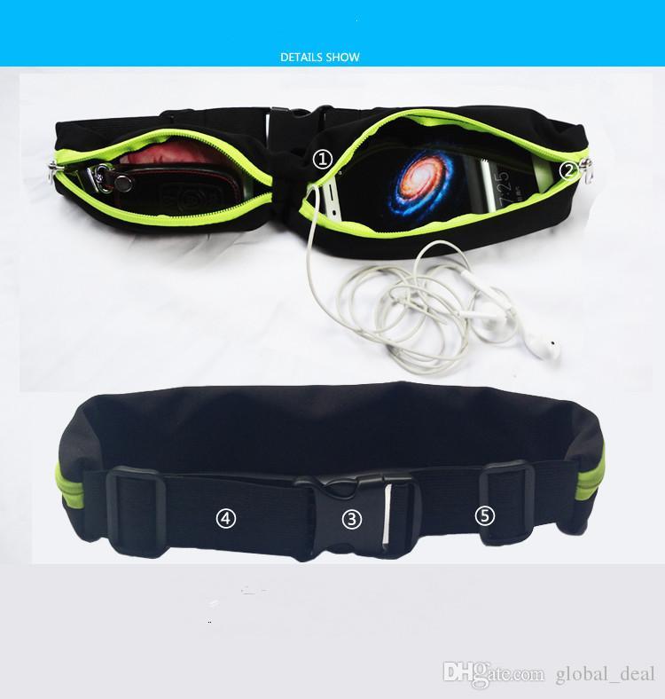 حقيبة مضادة للماء للرياضة والصالة الرياضية لهواتف ايفون x 7 6 S بلس 5S SE لهواتف سامسونج جالاكسي S6 S7