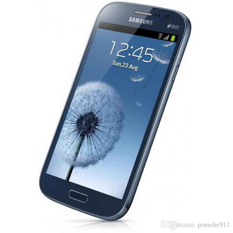 Desbloqueado Refurbished Samsung GALAXY Grande DUOS I9082 WCDMA 3G WIFI Sim Card GPS dupla Micro 5inch 1GB / 8GB Andorid Smartphones