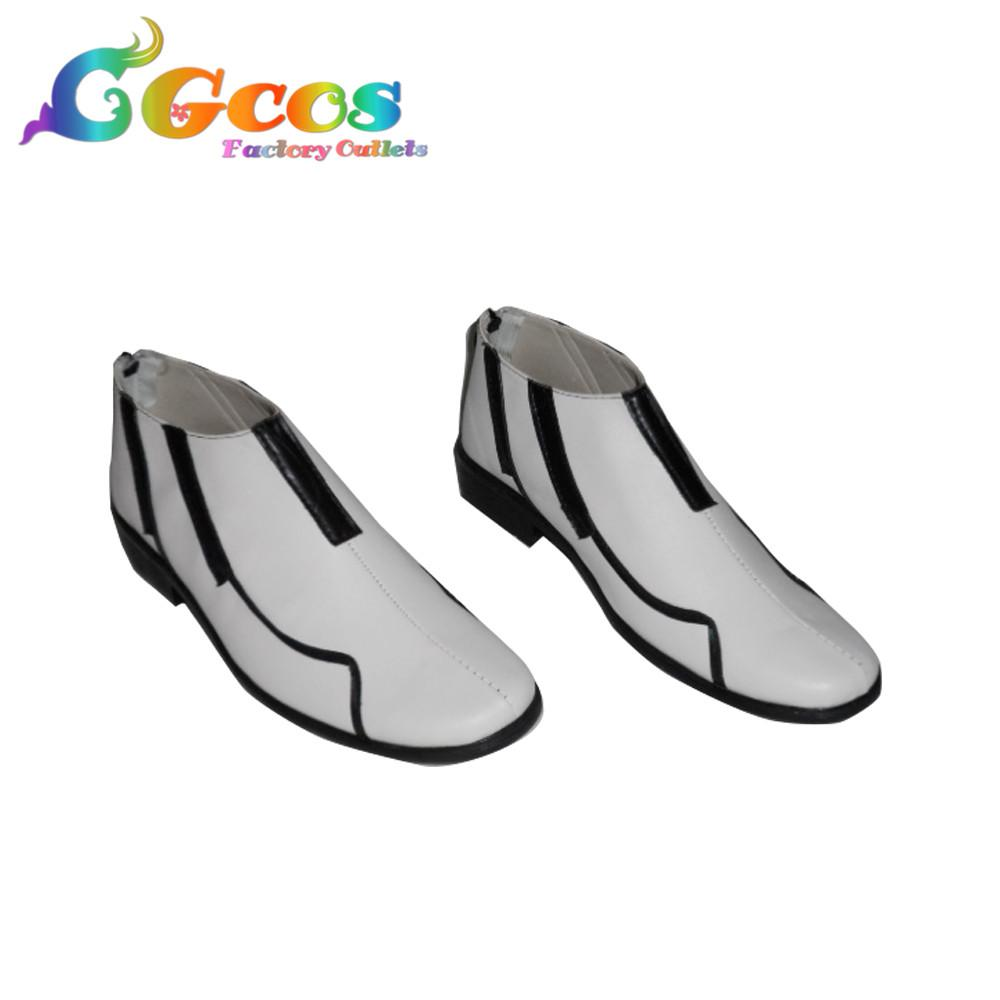 CGCOS Free Shipping Cosplay Shoes Guilty Crown Shu Ouma Boots Game Manga Anime Halloween Christmas