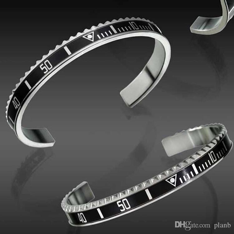 Relojes de moda de lujo estilo brazalete de alta calidad de acero inoxidable para hombre de moda pulseras del partido de moda para mujeres hombres con caja