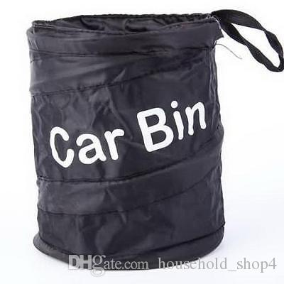 Car Garbage Can protable Trash poly Auto Traveling Collapsible Litter Bag Universal Accessories Trash Waste Bin