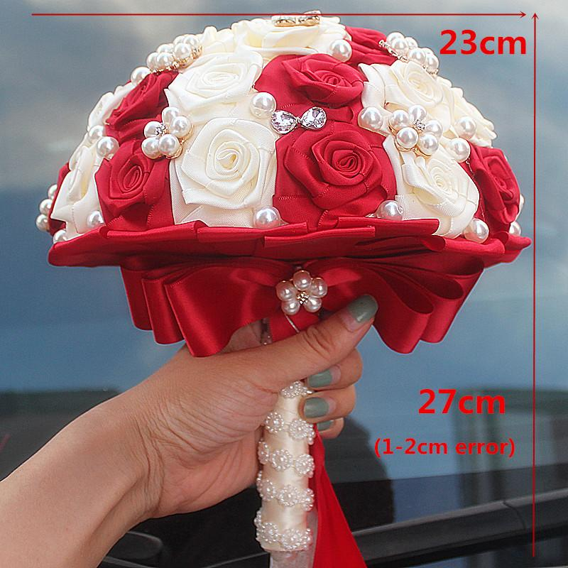 or white bracelet back down back silk flower earrings and jewel flower Redivory bridal set wedding necklace