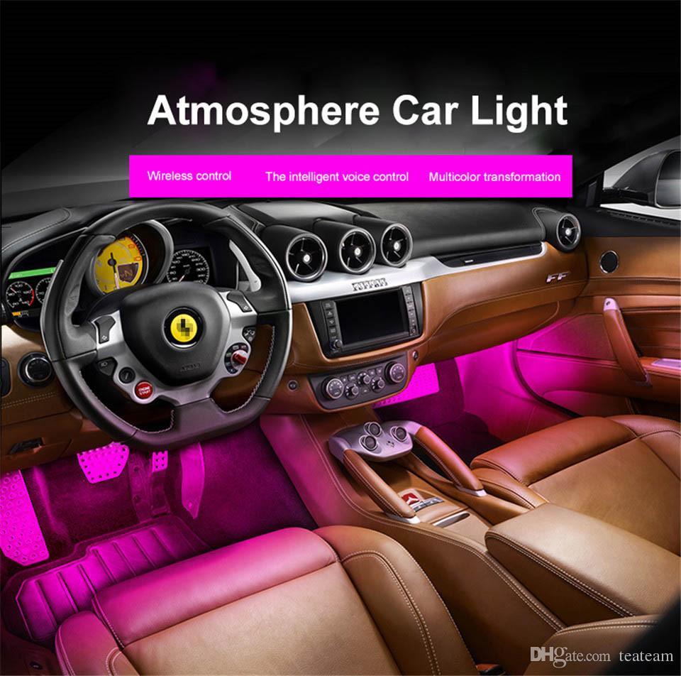 Led Lights For Cars >> Waterproof Music Led Lights For Cars Rgb Color Change Led Strip Lights 5050 With 9 18 Led Music Control Car Led Strip Lights Led Strip Light Kits From
