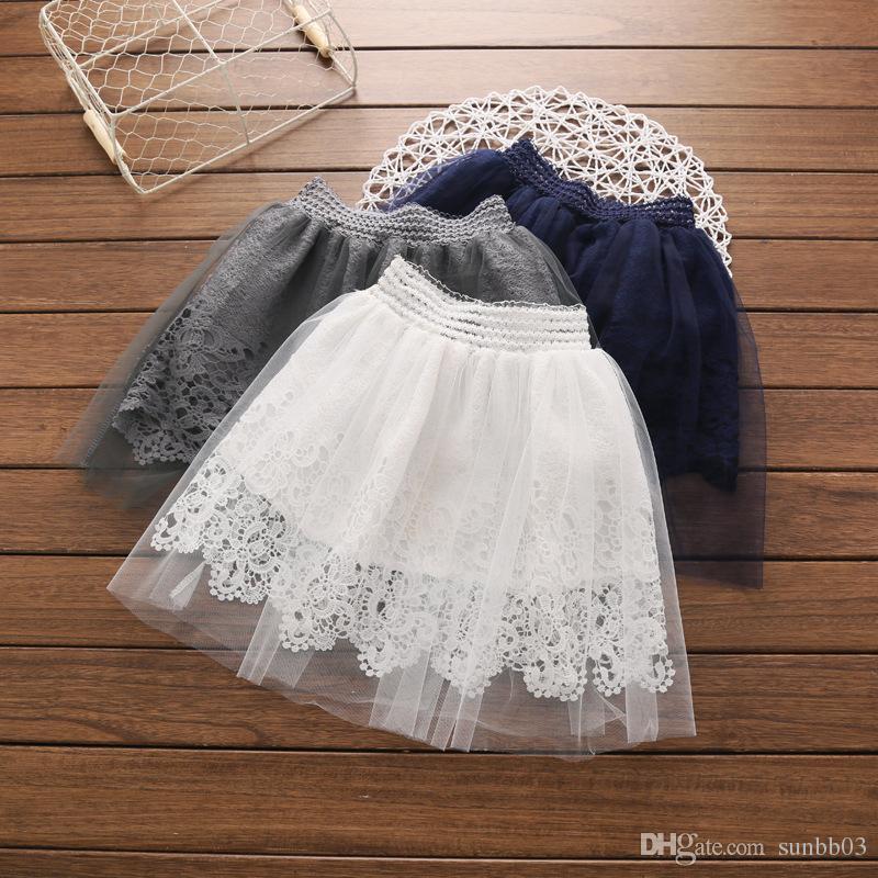Compre Nuevo Baby Girls Lace Tulle Skirt Kids Princess Mini Falda Plisada Falda Corta De Tutú Vestido Es 13651 A 4433 Del Sunbb03 Dhgatecom