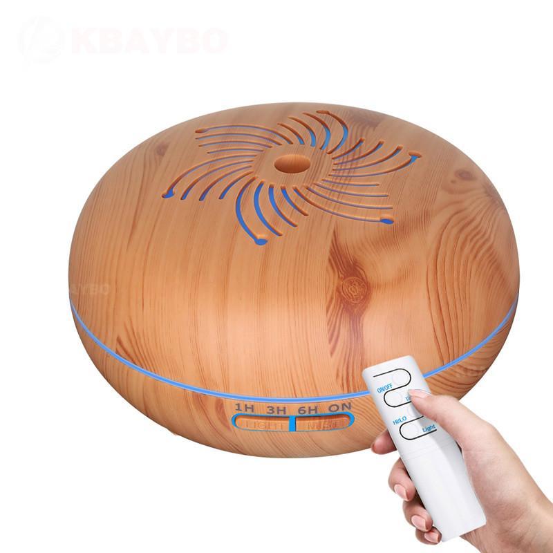 KBAYBO управления 550мл устройства увлажнитель кон Ultrasonido 7 Цвет LED электрическая aromaterapia асейте esencial difusor аромат