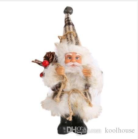 Navidad Santa Claus Doll Toy decoraciones de Navidad para el hogar decoraciones para árboles de Navidad regalo de Navidad