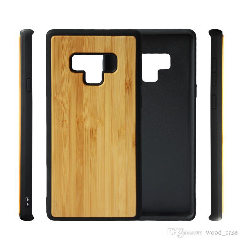 Новый горячий дизайн дерево ТПУ телефон Case для Samsung Galaxy Note 9 8 s9 S8 plus S7 S6 EDGE уникальный бамбук деревянный мобильный телефон обложка Case для Iphone
