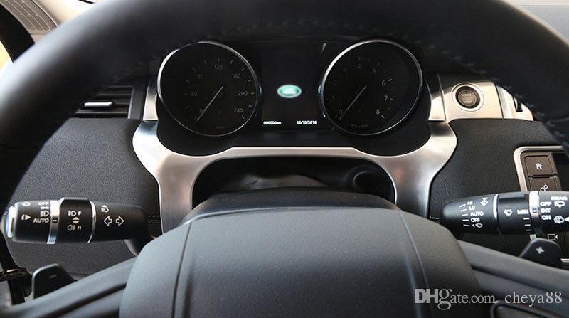 Chrome Dashboard Edge Cover Frame Trim for Range Rover Evoque 2012-2016