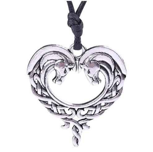 My Heart Hollow Out Pendant Animal Jewelry Wiccan Souvenir Gift For Lovers Factory Direct Womens Necklace