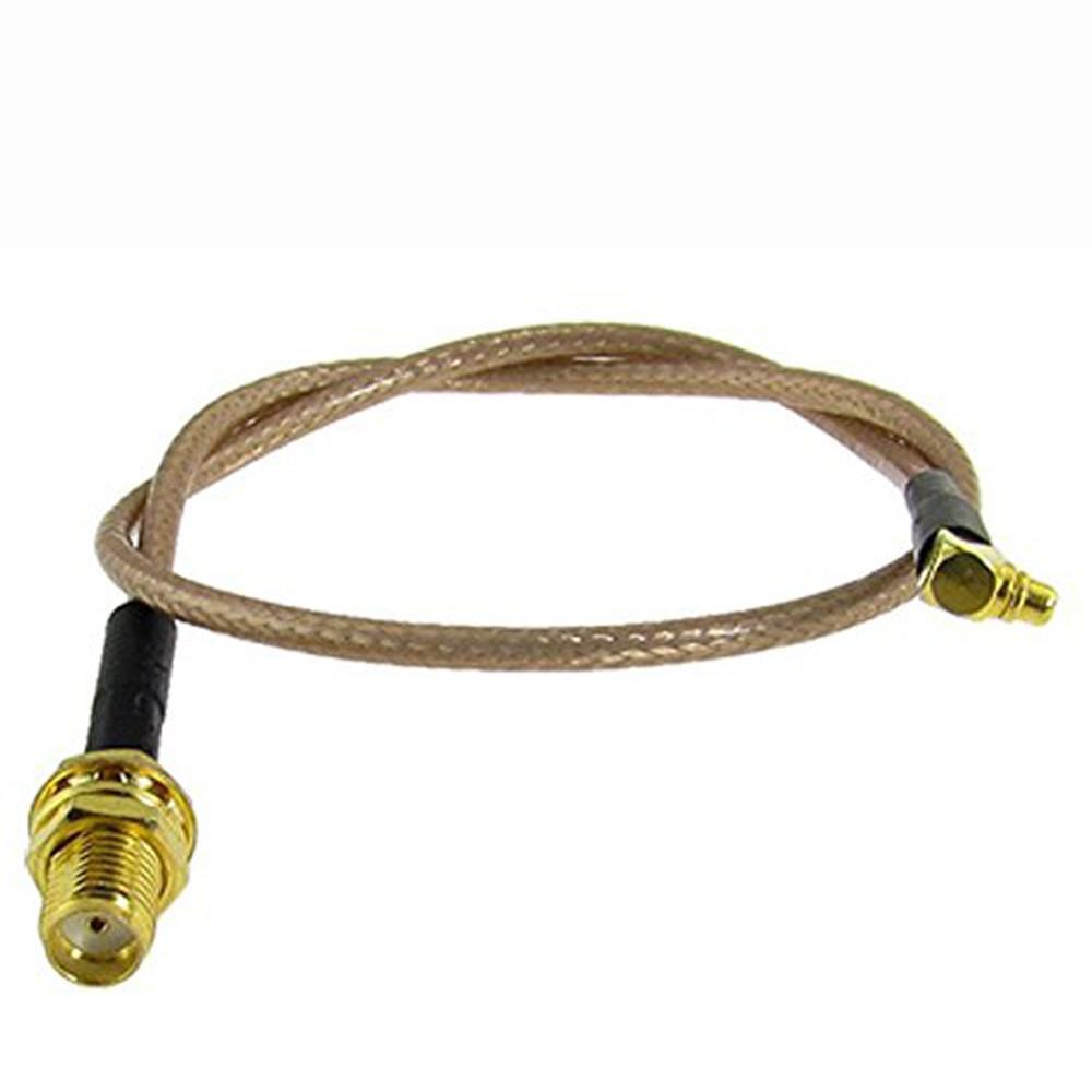 RF MMCX Erkek Dik Açı Anahtarı SMA Kadın Pigtail Kablo RG178 MMCX Konnektör Kablo Yüksek Kalite