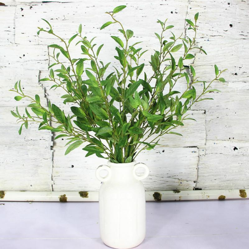7pcs/lot Simulation Olive Branch Artificial plant leaves Artificial flowers for Home Wedding Decoration 98cm Long