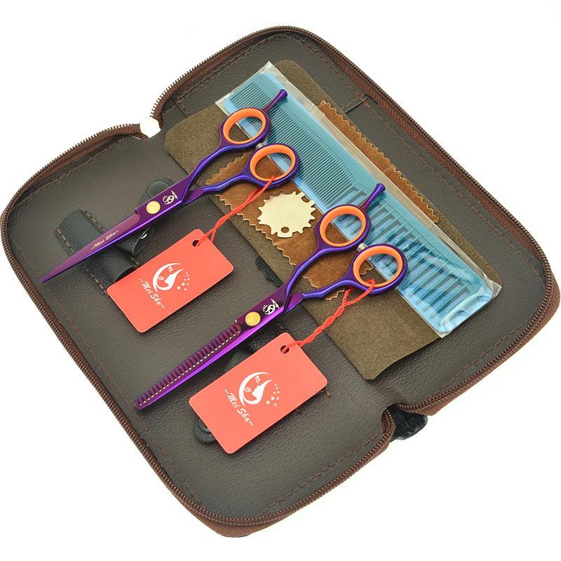 5,5 pollici Meisha professionale parrucchiere taglio forbici giapponese d'acciaio Barbieri diradamento cesoie Capelli Styling Cura Strumenti HA0424