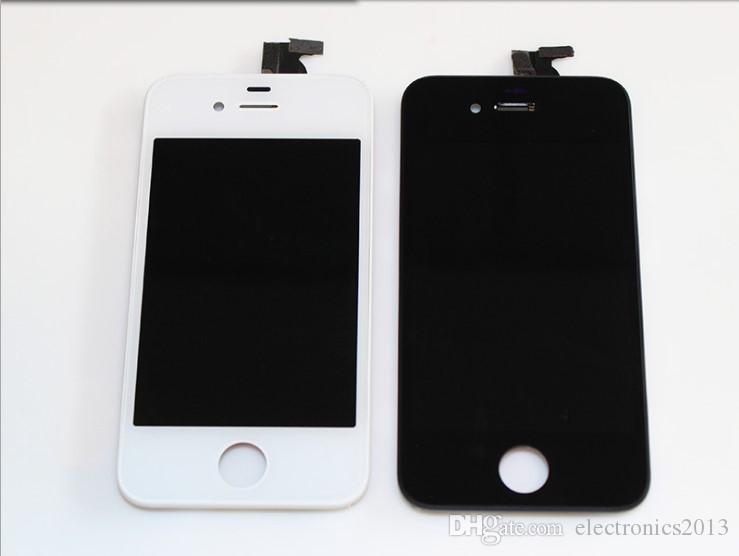 LCD Ekran Dokunmatik Digitizer Komple Ekran W / Çerçeve Tam Meclisi Değiştirme iPhone 7 8 Artı Cep Telefonu Dokunmatik Paneller