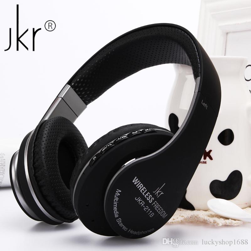 Jkr 211b Stereo Wireless Bluetooth Headset Auriculares Sports Headphone Earphones With Mic Fm Radio Tf Handsfree For Pc Phones Dj Headphones Gaming Headphones From Luckyshop1688 24 13 Dhgate Com