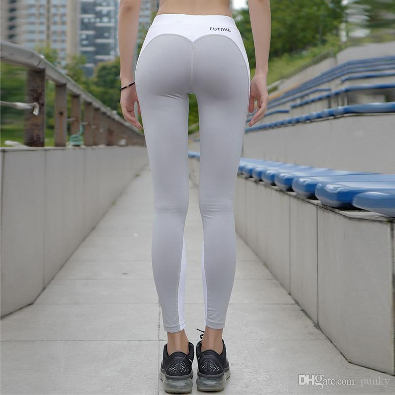 New Women Nice Leggings High Quality Thin Sports Yoga Pants Fitness Running Long Trousers Legging Tight Sportwear 50Pcs