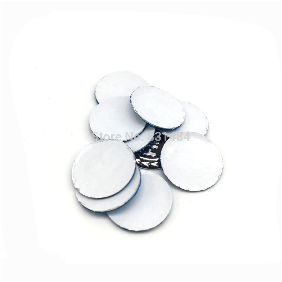 14mm emblema de la insignia para toyota fiat logotipo de chevrolet logotipos de la llave del coche para chevrole fiat plegable tirón remoto clave etiqueta de la cáscara