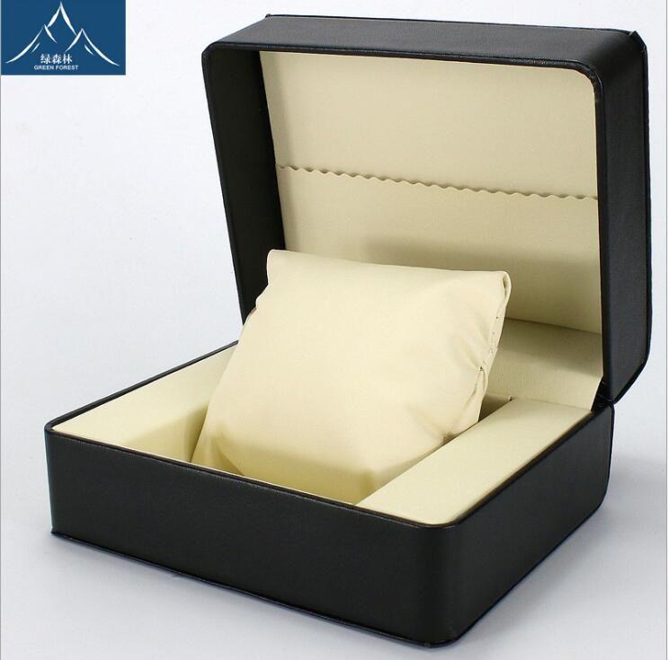 gioielli casella di visualizzazione high-end regalo box guardare imballaggio 2018 Cuoio pillowsaat visualizzazione kutusu caixa para relogio Guarda
